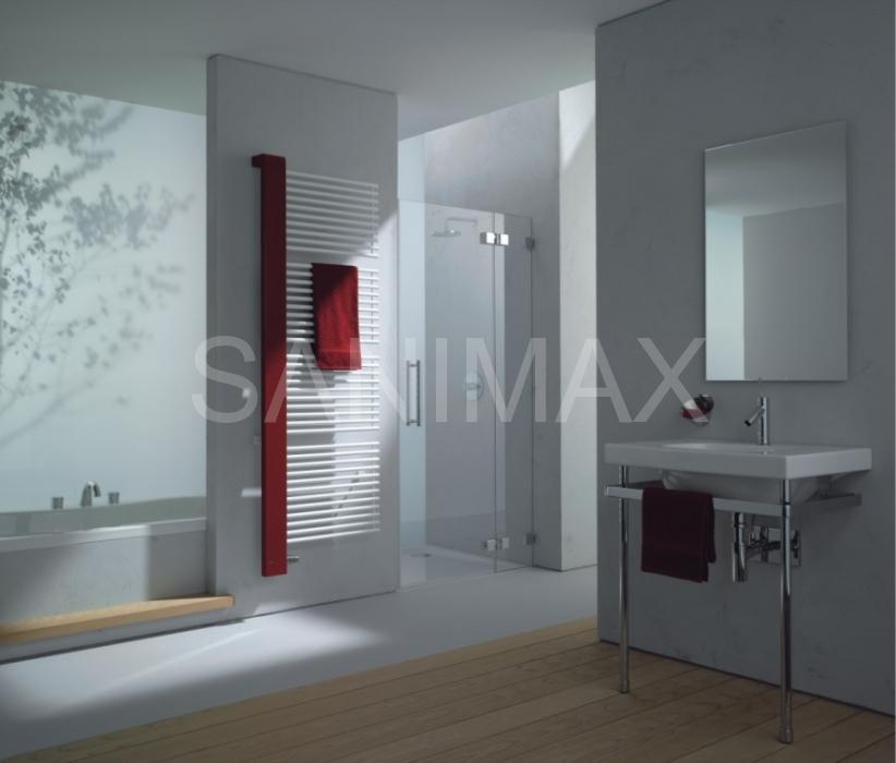 radi tor koupelnov kermi credo half 610x1466mm. Black Bedroom Furniture Sets. Home Design Ideas